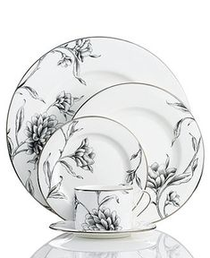 Marchesa by Lenox Dinnerware, Floral Illustrations Collection