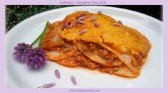 low carb Kohlrabi-Lasagne die beste Lasagne mit wenig Kohlenhydraten lecker und gesund