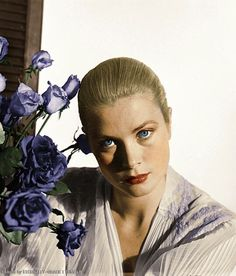 "eternally-grace: "" Grace kelly - Photo by Peter Basch. Colours by me. Original here: X """
