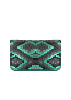 Ikat Fully Beaded Clutch - all in the details!