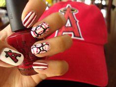 Anaheim Angels Nails