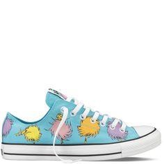 The Lorax Blue Chuck Taylor Dr Seuss Shoes : Dr Seuss Converse | Converse.com