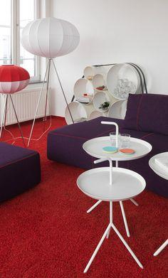 #Projekt #Gaertner Internationale #Moebel #Sofa #Stehleuchte #Beistelltisch