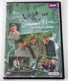 Last of the Summer Wine: Vintage 2002 (DVD, 2014, 2-Disc Set) NEW!