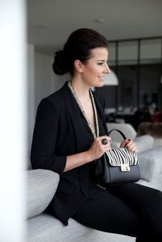Cute zebra bag
