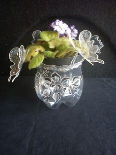 Cachepô. Pode ser utilizado também para balas e bombons.            Peça decorativa que pode ser usada com bolinhas de gel, flores artifi...