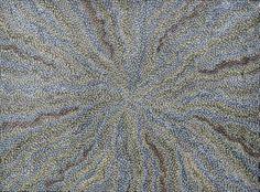 Abie Loy KEMARRE-Bush Leaf #aboriginal #aborigene #contemporain #Australia