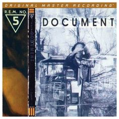 R.E.M. - Document on Numbered Limited Edition 180g LP from Mobile Fidelity