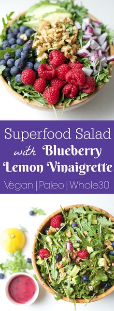 You'll love this powerful antioxidant salad packed with flavor and nutrients! Perfect for Spring and Summer!