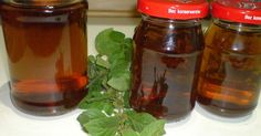 Syrop miętowy Preserves, Pickles, Pantry, Smoothies, Salsa, Mason Jars, Herbs, Homemade, Canning