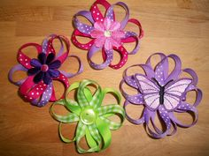 Easy to make hair bows