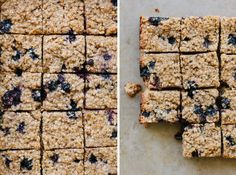This slice sits somewhere between a cake and baked oatmeal in texture, lovely and sturdy and filling too, which is exactly what we look for in the perfect snack for ourselves or the kids!