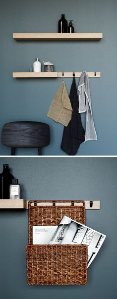 Mix and match the Calidris accessories, rails and racks and create more storage. Endless combinations.