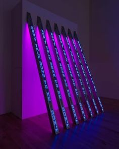 Jenny Holzer will give a talk at Tate Modern on July Don't miss an opportunity to hear the artist in conversation with Frances Morris. Jenny Holzer, Lights Artist, Light Installation, Art Installations, Light Texture, Art Moderne, Modern Artists, Artistic Photography, Light Art