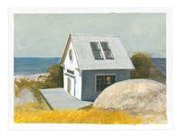 Outpost, 2017 Grant Wood, Bo Bartlett, Andrew Wyeth, Edward Hopper, Original Artwork, Artist, Prints, Painting, Artists