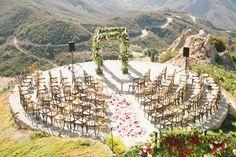 Romantically Red California Wedding Part 1