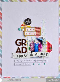 today is a gift. grad by ~Sasha Farina