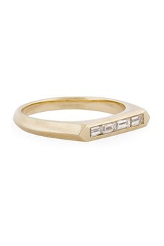 25 Unique Rings For The Offbeat Bride #refinery29  http://www.refinery29.com/unique-engagement-rings#slide17