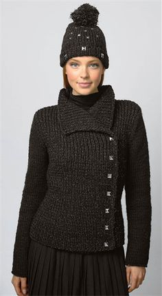 Bergere de France The Perfect Jacket Pattern Sewing Coat, Wool Shop, Jacket Pattern, Knit Jacket, Warm And Cozy, Cardigans, Sweaters, Turtle Neck, France