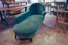 Little Paris Store : Products   Meridienne - vintage chaise longue