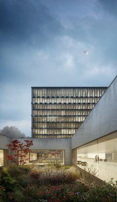 Gallery - Berrel Berrel Kräutler Wins Competition to Expand WHO's Geneva Headquarters - 1