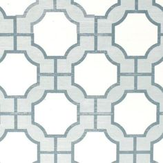 Wallpaper - Imperial Gates Harbor Blue - Phillip Jeffries - dove, harbor, blue, white, geometric, wallpaper,