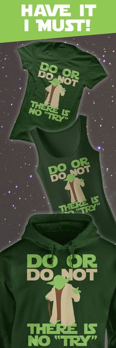 I love this Yoda quote and need this shirt! <3