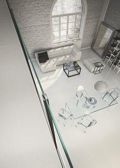"""La differenza tra """"occupare uno spazio"""" e """"vivere un ambiente domestico"""" passa anche dalla scelta delle lastre ceramiche. Ecco le nostre proposte, per soggiorni e #livingroom."""