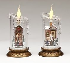 2 Christmas Candles by Gordon Companies, Inc. $96.00. This product may be prohibited inbound shipment to your destination.. Picture may wrongfully represent. Please read title and description thoroughly.. Please refer to SKU# ATR25772015 when you inquire.. Brand Name: Gordon Companies, Inc Mfg#: 30703415. Shipping Weight: 4.00 lbs. 2 Christmas Candles/Each candle requires 3 ''AAA'' batteries - not included/Convenient on/off switches on the bottom of bases/8''H x 4''DIA/made of ...