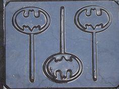 Batman candy molds