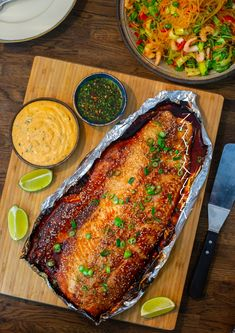 Salmon Recipes, Fish Recipes, Recipies, Zeina, Yummy Food, Tasty, Swedish Recipes, Date Dinner, Foods With Gluten