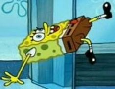 """""""Y'all ever think about how many memes we have bc of spongebob? Drop your favorite meme let's make a thread 💛"""" Meme Stickers, Snapchat Stickers, Cartoon Icons, Cartoon Memes, Cartoons, Stupid Memes, Dankest Memes, Reaction Pictures, Funny Pictures"""
