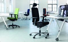 James Martela James, een bureaustoel van PLAN@OFFICE ontworpen door Martela door Iiro Viljanen.