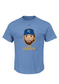Eric Hosmer  Kansas City Royals Mens Short Sleeve T-Shirt - Blue