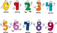 Poems to help children remember how to form numbers.