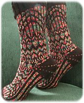 Ravelry: Stained Glass Socks pattern by Deborah Tomasello