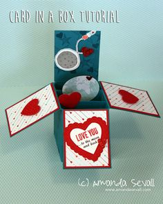 Amanda Sevall Designs: How To: Card in a Box
