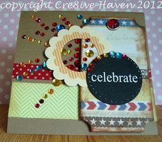 Having a Festive 4th celebration after creating this fireworks handmade card