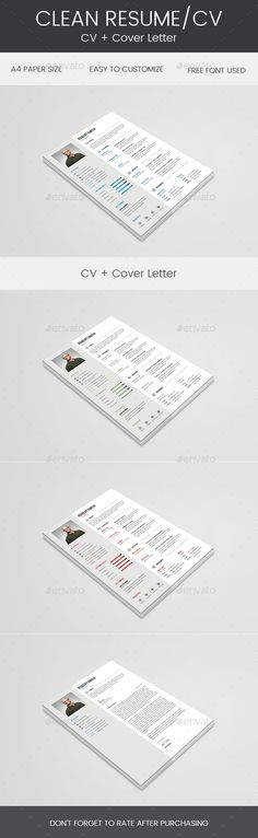 Great resume layout that is well formatted and clean Foru2026 #resume - clean resume design