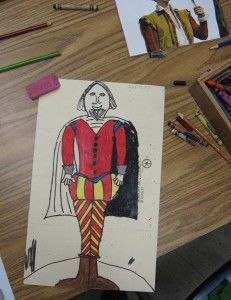site includes list of jobs held by position in society Shakespeare Portrait, Shakespeare Birthday, Grant Wood American Gothic, Third Grade Art, Shakespeare Characters, High School Literature, Teaching Theatre, Midsummer Nights Dream, Heart For Kids