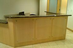 reception desk design | ... reception desk plans gallery of custom l shaped reception desk designs
