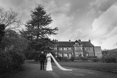 Whirlowbrook Hall November Winter Wedding Bride and Groom
