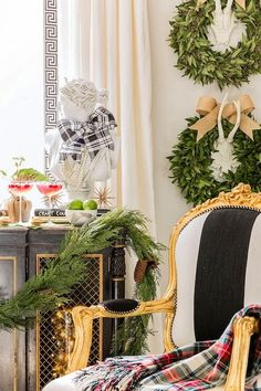 I hope you are following along with my month long series on decorating your home for the holidays with Chinoiserie Chic style. This is Da...