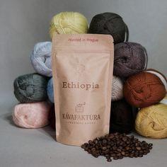 PŘÍZE - Přírodní příze Barista, Ethiopia, Roast, Coffee, Food, Kaffee, Essen, Cup Of Coffee, Meals