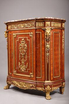 19th century Meublé d'appui by Guillaume and Jean-Michel Grohé - Tobogán Antiques, Paris