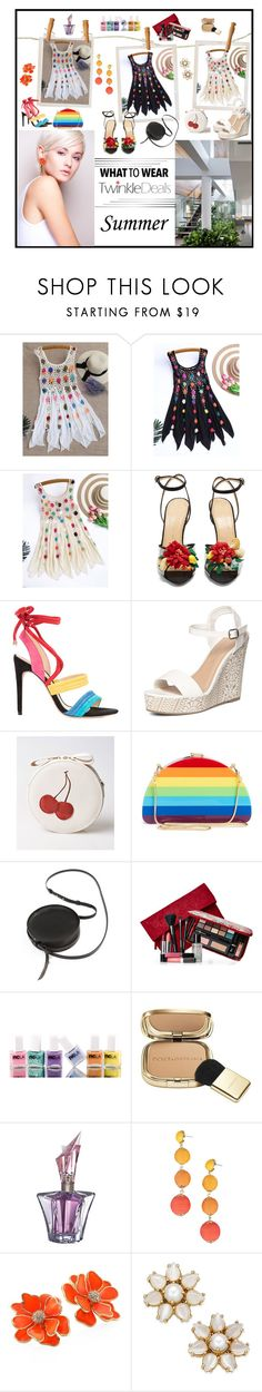 """TWINKLE Deals  -  Dress"" by fantasiegirl ❤ liked on Polyvore featuring Charlotte Olympia, Alexandre Birman, Dorothy Perkins, Milly, Sara Barner, Elizabeth Arden, ncLA, Dolce&Gabbana, Thierry Mugler and Armitage Avenue"