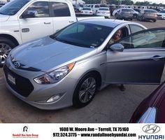 "https://flic.kr/p/tEHVjb   #HappyAnniversary to Caty Smith on your 2013 #Hyundai #Sonata Hybrid from Brent Billingsly at Randall Noe Hyundai!   <a href=""http://www.randallnoehyundai.com/?utm_source=Flickr&utm_medium=DMaxxPhoto&utm_campaign=DeliveryMaxx"" rel=""nofollow"">www.randallnoehyundai.com/?utm_source=Flickr&utm_medi...</a>"