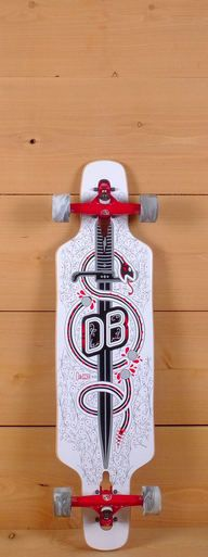 "The DB 36"" Dagger is a compact board built for freeride and cruising."