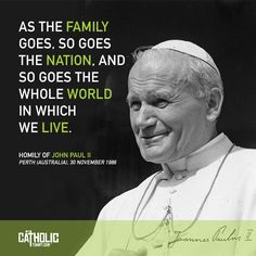 85 Best Pope John Paul Ii Quotes Images Catholic Catholic Saints