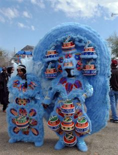 "To see- Mardi Gras Indians - Big Chief Montana- I've ""gotta"" see a pretty chief"